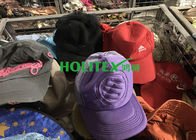 Men Second Hand Caps Cotton / Polyester Material Used Hats For Southeast Asia